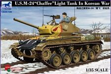 "Bronco 1/35 US Army M-24 ""Chaffee"" Light Tank (Korean War) #35139 *New*Sealed*"