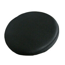 16inch 33cm Black Bar Stool Cover Round Chair Seat Cover Elastic Sleeve