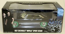 Greenlight 1/24 SCALA 1967 CHEVROLET Impala Sport Berlina soprannaturale Chase AUTO
