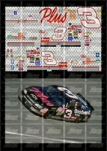 NASCAR 1/24 DECALS DE03 - DALE EARNHARD 1998 CUP #3 GOODWRENCH SERVICE PLUS
