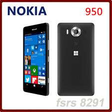 "Original Nokia Lumia 950 Hexa Core 5.2 "" 32GB ROM 3GB RAM 20.0MP Mobile Phone"