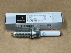Genuine Spark Plug For Mercedes-Benz W205 X253 C253 C117 NEW OE C GLC CLA GLA