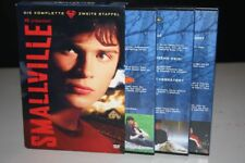 SMALLVILLE komplette ZWEITE / 2 STAFFEL DVD PAPPSCHUBER 23 Episoden auf 6 DVD's