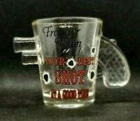 Frontier Town Ocean City Maryland Shot Glass Bar War 3D Gun Handle Town Souvenir