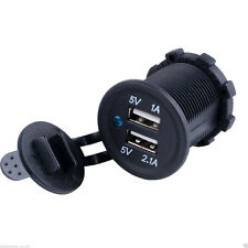 HOT Auto Accendisigari Splitter Presa 12 V 5 V 2.1 A Adattatore Di Alimentazione Caricatore USB