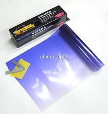 BLUE FADE TO CLEAR SUN VISOR WINDSCREEN TINT FILM KIT 20X150CM NEW