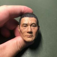 1/6 scale Head Sculpt Black Hair Kitano Takeshi Beat Takeshi きたの たけし samurai