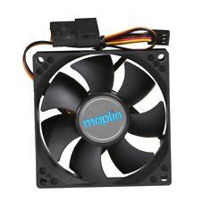 Maplin 80mm Black PC Case Fan
