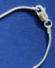 Markenlose Echte Edelmetall-halsketten ohne Steine aus Sterlingsilber mit Gemischte Themen
