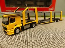 1/87 Herpa MB Actros Eurolohr Autotransporter Qualitrans Cargo ( HU ) 309790