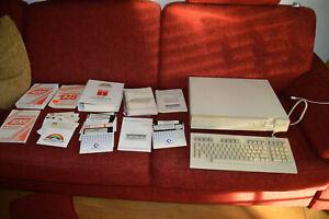 Commodore 128D metal 128 funktionsfähig 100%ok C64 Modus Zubehör OVP Dbase GEOS