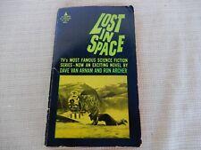 "Dave Van Arnam & Ron Archer ""Lost in Space"" 1967 Sci Fi Paperback Tv tie in"