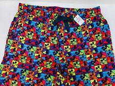 Disney Parks Adult Mickey Mouse Pajama Pants medium Unisex Brand New With Tag