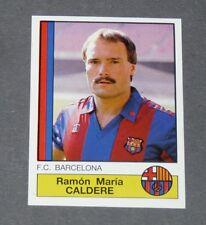 48 CALDERE BLAUGRANA BARCELONA PANINI LIGA FUTBOL 87 ESPAÑA 1986-1987 FOOTBALL