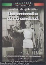 Un Minuto De Bondad 1954 DVD NEW En Pantalla Carlos Lopez Moctezuma SEALED