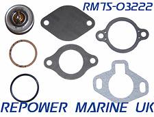 Marine Thermostat Kit Mercruiser V6 V8 160 Degrees, Replaces 807252Q5, 807252