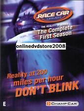 RACE CAR DRIVER (Season 1) UK Reality Racing TV Series (3 DVD SET) NEW SEALED
