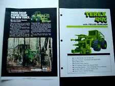 Terex 44C & 22C Wheel Loader Literature 5 pieces