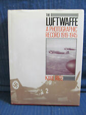 Luftwaffe Photographic Record 1919-1945 aviation book HB/DJ by Karl Ries