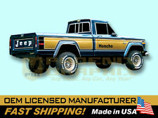 1976 1977 1978 Jeep Honcho J10 Townside Truck Decals & Stripes Kit