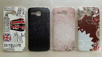 X Huawei Ascend Y600 Y600-U20 COPERTURA CUSTODIA COVER RIGIDA SLIM CASE FANTASIA