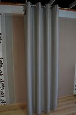 cortina ojal Apelt ALASKA 82 GRIS PLATA 140x245 cm Cortina