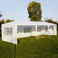 Clevr 10'x30' Outdoor Party Canopy Tent with 8 Removable Sidewalls Gazebo