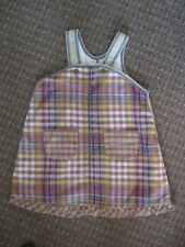 100% cotton pinafore dress - quirky - by Chicco size 3 years