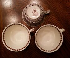 "Antique 3 Mason's ""Bow Bells"" Tea Cup 4"" England Ironstone China Masons"