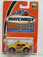 MATCHBOX HERO-CITY VOLKSWAGEN BEETLE 4X4 YELLOW