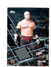 WWE Kane Topps 2011 Ringside Relics Event Used Ring Skirt Relic Card Grey