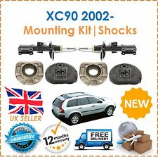 For Volvo XC90 2002- 2 Front Strut Mounting Sets & 2 Front Shock Absorbers NEW
