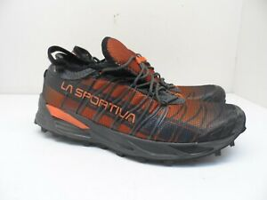 La Sportiva Men's Mutant Trail Running Shoes Carbon/Flame Size 11M