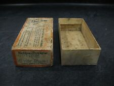 """Heddon 9119Pl Brush Box (only) River Runt """"Pearl"""" Vintage Fishing Lure Crankbait"""