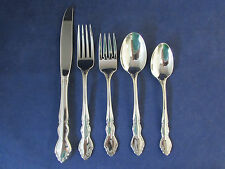 Oneida Stainless Flatware  DOVER (GLOSSY)  5pc Place Setting USA
