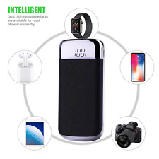 90,000mAh Portable LCD Power Bank External Battery Charger For iOS & ANDROID.