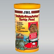 JBL Schildkrötenfutter 1 l, Hauptfutter für Wasserschildkröten von 10 - 50 cm