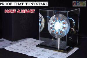 Proof that Tony Stark has a heart LED Lamp Light Arc MK2 Iron Man Arc Reactor