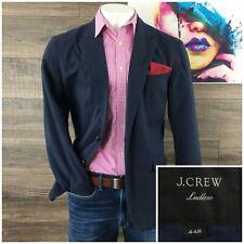 2019 J CREW Ludlow Mens Linen Cotton Blazer Sport Coat Jacket Size 44R