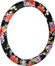 Victor Classic Floral Design Steering Wheel Cover VIC97178-9