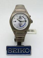SEIKO Kinetic Titanium Arctura 3M22-0D99 *Mid-Size* Ref: SWP337P1