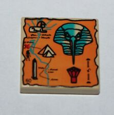 LEGO Egypte Tan Tile with Hieroglyphs ref 3068px20 / Set 5938 et 5978