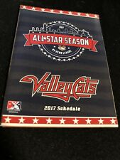 2017 Tri-City Valley Cats Baseball Pocket Schedule Astro's Farm Team