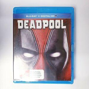 Deadpool Movie Bluray Free Postage Blu-ray - Comedy Action Superhero