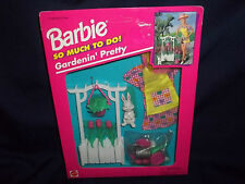 1995 Barbie So Much To Do Gardenin' Pretty #67171-91Rare Pink Flowers & Clothes
