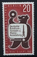 GERMANY BERLIN 1961 Broadcasting Exhibition. Set of 1. Mint Never Hinged. SGB212