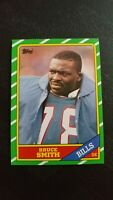 1986 Topps Bruce Smith Buffalo Bills #389 Football Card. MINT Condition.