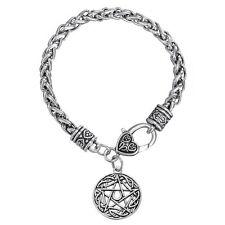 mens lucky charm bracelet ebay Beautiful Tibetan Men tibetan talisman wiccan pentacle star moon men pentagram lucky charms bracelet