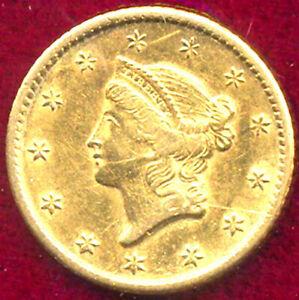 1849-O G$1 - Gold Dollar++