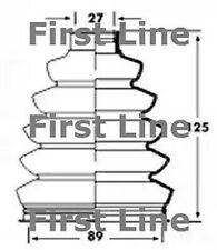 Unten, Antriebswelle First Line FCB2358
